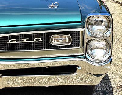 Photograph - 1966 Pontiac Gto by John Waclo