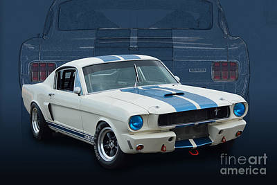 Photograph - 1966 Shelby Gt350 by Stuart Row