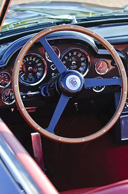 1967 Aston Martin Db6 Volante Steering Wheel Art Print