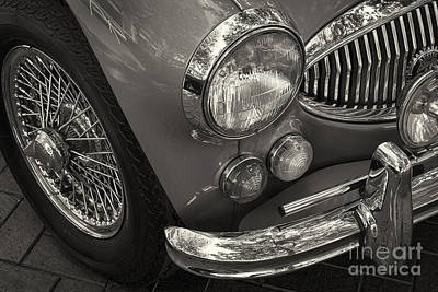 Photograph - 1967 Austin Healey 3000 by Dennis Hedberg
