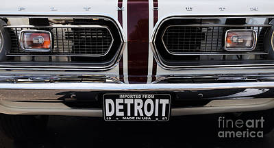 Photograph - 1967 Barracuda by Dennis Hedberg
