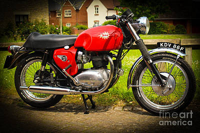 Photograph - 1967 Bsa Spitfire by Rene Triay Photography