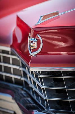 Photograph - 1967 Cadillac Eldorado Grille Emblem -0748c by Jill Reger