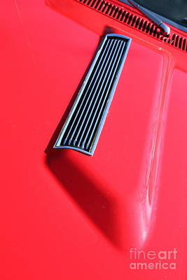 1967 Chevrolet Chevelle Ss Hotrod 5d26458 Art Print