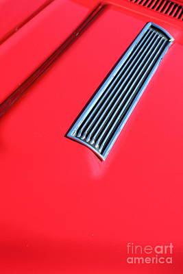 1967 Chevrolet Chevelle Ss Hotrod 5d26459 Art Print