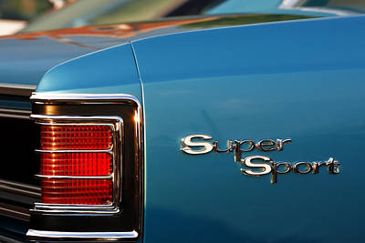 Recently Sold - Sports Royalty-Free and Rights-Managed Images - 1967 Chevrolet Chevelle Super Sport by Gordon Dean II
