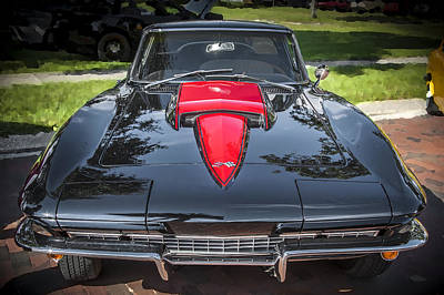 Big Block Chevy Photograph - 1967 Chevrolet Corvette 427 435 Hp by Rich Franco