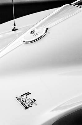 Photograph - 1967 Chevrolet Corvette Emblems by Jill Reger