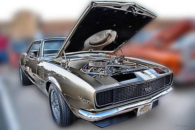 Photograph - 1967 Chevy Camero Ss by Dyle   Warren