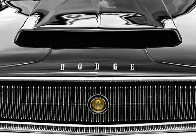 Artwork Photograph - 1967 Dodge Charger by Gordon Dean II
