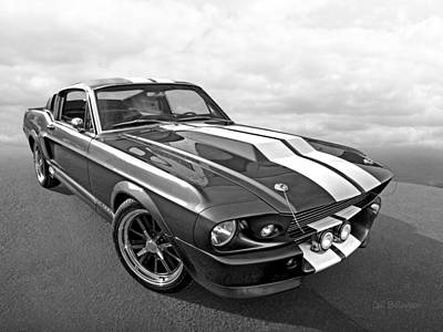 Ford Automobile Photograph - 1967 Eleanor In The Clouds by Gill Billington