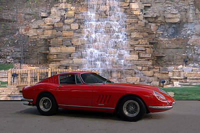 1967 Ferrari 275 Gtb Art Print