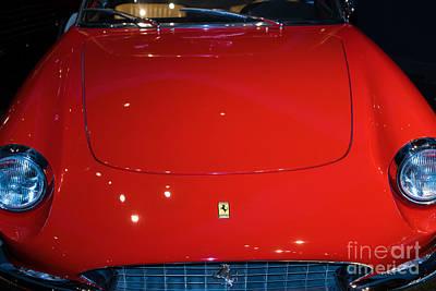 Photograph - 1967 Ferrari 330 Gts Dsc2620 by Wingsdomain Art and Photography