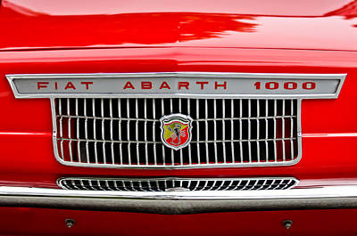 Photograph - 1967 Fiat Abarth 1000 Otr Grille by Jill Reger