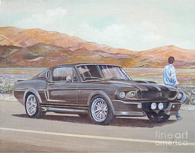1967 Ford Mustang Fastback Art Print