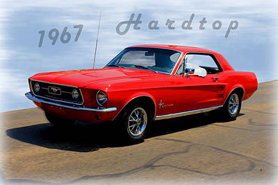 Photograph - 1967 Ford Mustang Hardtop by Betty Northcutt