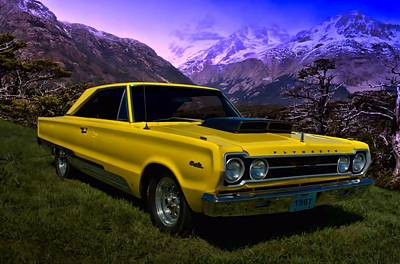 Photograph - 1967 Plymouth Belvedere by Tim McCullough