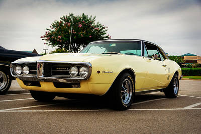 Oldtimers Photograph - 1967 Pontiac Firebird by Jon Woodhams