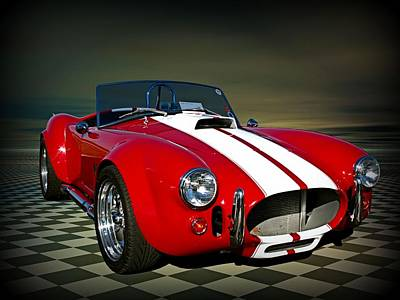 Photograph - 1967 Shelby Cobra Replica by Tim McCullough