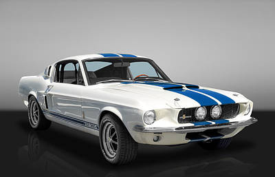 Photograph - 1967 Shelby Mustang Gt-350 by Frank J Benz