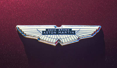 Photograph - 1968 Aston Martin Db6 Coupe Emblem -0335c by Jill Reger