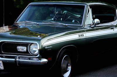 Photograph - 1968 Barracuda 340-s by Davandra Cribbie