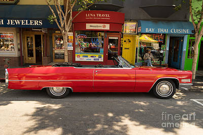 Photograph - 1968 Cadillac Deville Convertible Dsc1459 by Wingsdomain Art and Photography