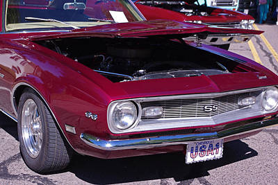 Photograph - 1968 Chevrolet Camaro Ss by Robyn Stacey