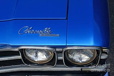 Art Dealer Photograph - 1968 Chevy Chevelle by Paul Ward