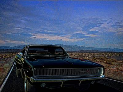 Photograph - 1968 Dodge Charger  by Tim McCullough