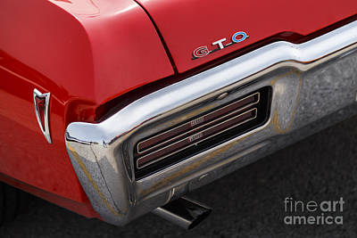 Photograph - 1968 Gto by Dennis Hedberg