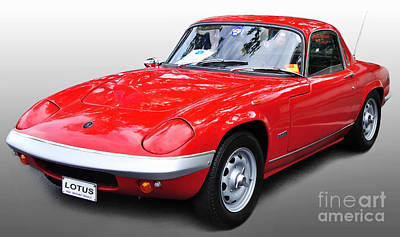 Photograph - 1968 Lotus - Elan S4 -  Full View by Kaye Menner