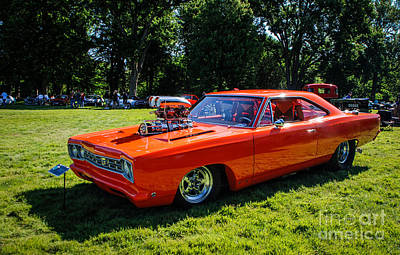 Photograph - 1968 Plymouth Road Runner by Grace Grogan