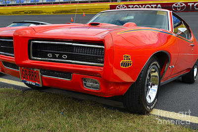 Photograph - 1968 Pontiac Gto by Mark Spearman