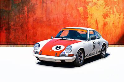 1968 Porsche 911 Art Print