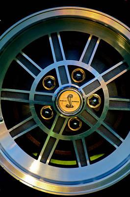 Photograph - 1968 Shelby Gt500 Kr Fastback Wheel Emblem by Jill Reger