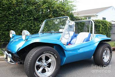 Photograph - 1968 Volkswagon Dune Buggy Convertible by John Telfer