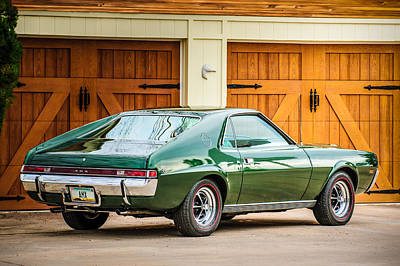 Photograph - 1969 Amc Amx -0100c by Jill Reger