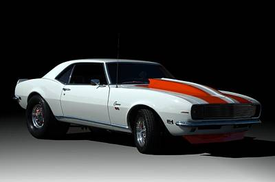 Photograph - 1968 Camaro Ss-396 Dragster by Tim McCullough