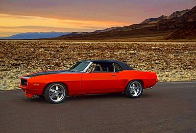 Photograph - 1969 Camaro Z28 Convertible by Tim McCullough