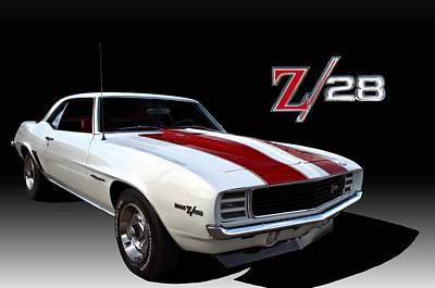 Photograph - 1969 Camaro Z28 Rs by Tim McCullough