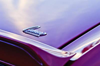 1969 Photograph - 1969 Chevrolet Camaro  Emblem 4 by Jill Reger
