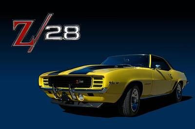 Photograph - 1969 Chevrolet Camaro Z28 Rally Sport Coupe by Tim McCullough