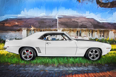 Photograph - 1969 Chevy Camaro Rs Painted   by Rich Franco