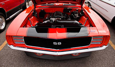 Photograph - 1969 Chevy Camaro Ss by Joann Copeland-Paul