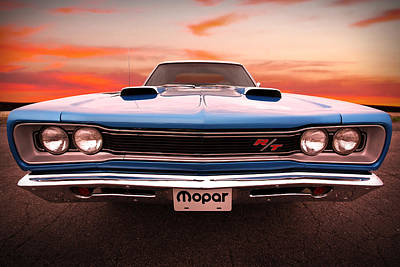 Photograph - 1969 Dodge Coronet R/t In B5 Blue by Gordon Dean II