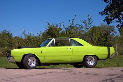 Photograph - 1969 Dodge Dart Gt by Tim McCullough