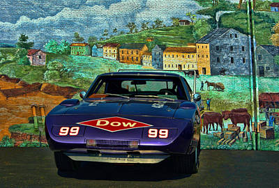Photograph - 1969 Dodge Daytona Stock Car Replica by Tim McCullough