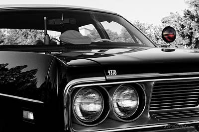 Photograph - 1969 Dodge Patrol Car by Jim Thompson