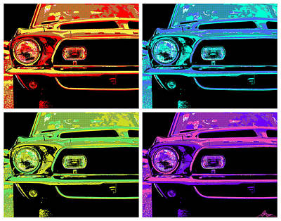 Photograph - 1969 Ford Mustang Gt500 Kr Pop by Gordon Dean II